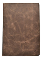 "iPad 10.2"" 7th/8th Generation Leather Case. Premium Genuine Leather Stand/Cover/Flip Case (Chocolate Brown)"