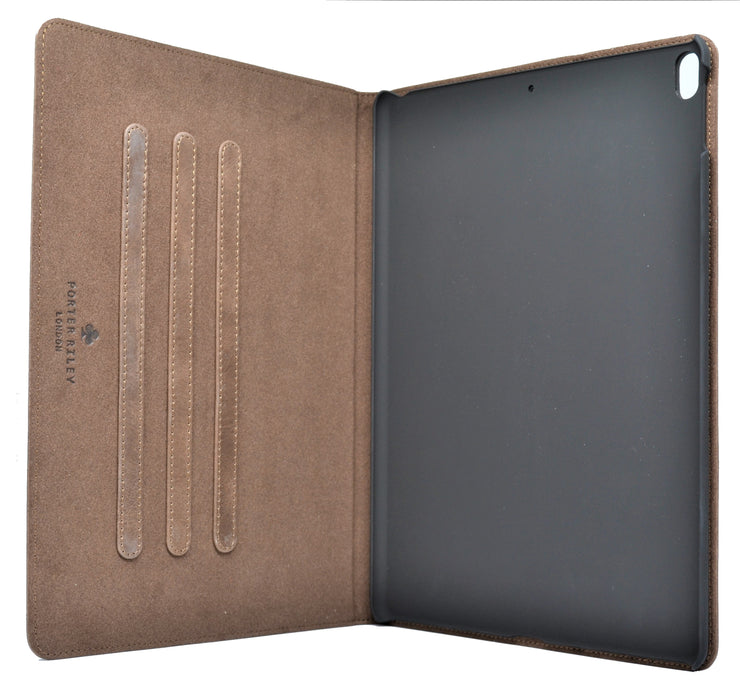 "iPad Pro 11"" 2018 Release Leather Case. Premium Genuine Leather Stand/Cover/Flip Case (Chocolate Brown)"