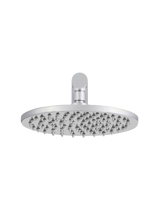 Meir Round Wall Shower 200mm rose, 400mm arm - Polished Chrome
