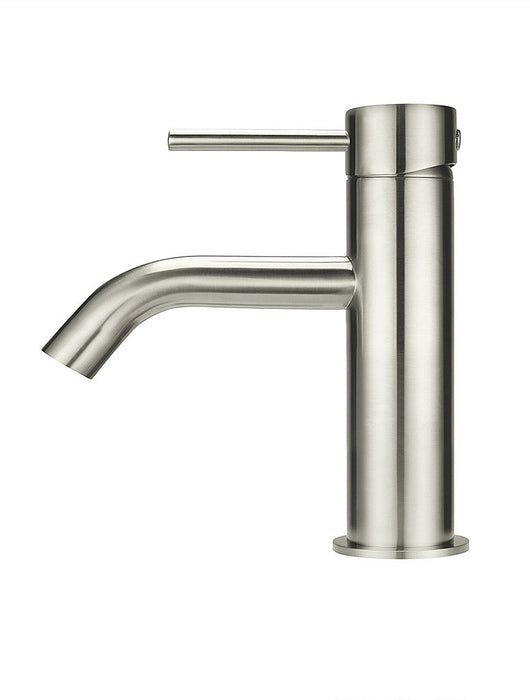 Meir Piccola Basin Mixer Tap - PVD Brushed Nickel