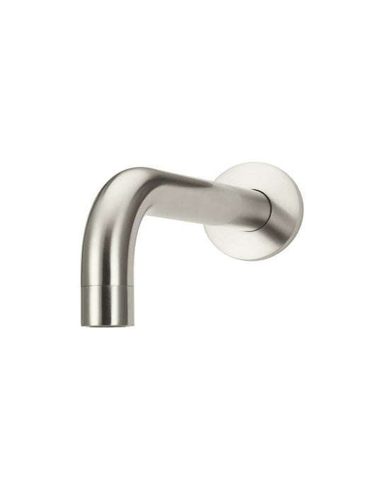 Meir Round Curved Spout 130mm - PVD Brushed Nickel