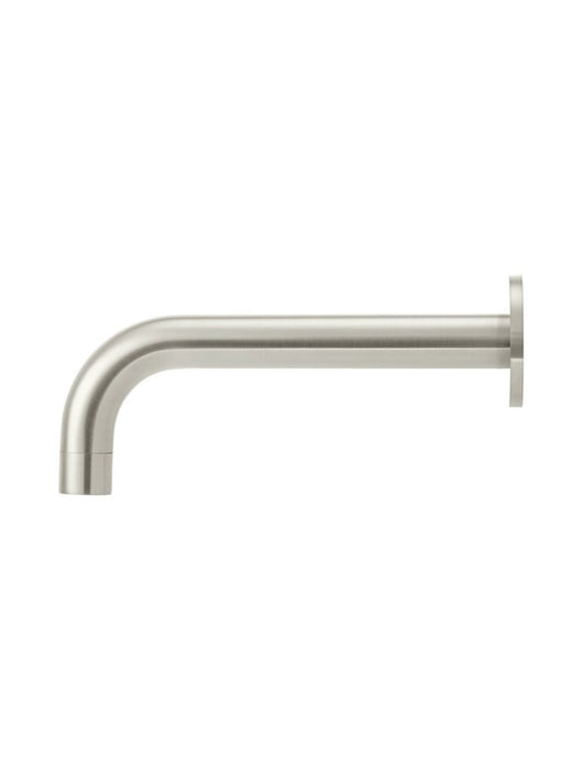 Meir Round Curved Spout - PVD Brushed Nickel