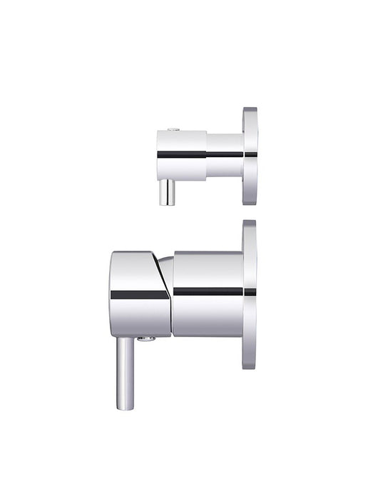 Meir Round Diverter Mixer - Polished Chrome