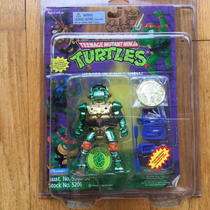 1995 Ninja Turtles WARRIOR METALHEAD From Mirage Studios Signed Laird MOC