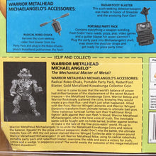 Load image into Gallery viewer, 1995 Ninja Turtles WARRIOR METALHEAD From Mirage Studios Signed Laird MOC