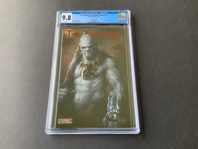 2009 Stranger Comics THE UNTAMED: A SINNER'S PRAYER #1 CGC 9.8 1:10 RI Variant