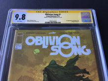 Load image into Gallery viewer, 2018 Image Comics OBLIVION SONG #1 CGC 9.8 SS Signed Robert Kirkman