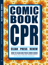 Load image into Gallery viewer, Comic Book CPR: How to Clean and Press Comics CGC CBCS PGX Guide