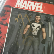 Load image into Gallery viewer, 2017 Marvel PUNISHER #1 CBCS 9.8 SS Signed VINCENT D'ONOFRIO - JON BERNTHAL NM