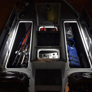 BLUEWATERLED Elite Series LED Locker Lid Light - Single Side