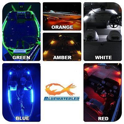 BLUEWATERLED 12 LED / 8-inch Blue Water LED™ Light Strip