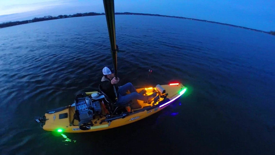 BLUEWATERLED Extreme Kayak LED Lighting Kit