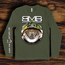"Load image into Gallery viewer, The BMB ""Earn Em & Return Em"" Long Sleeve Tee"