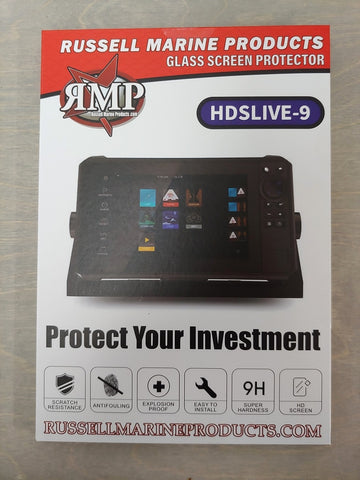 HDS 9 Tempered Glass Screen Protector LIVE