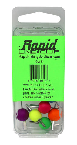 Rapid Line Clips (6-pack)