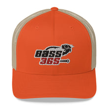Load image into Gallery viewer, Bass 365 Retro Trucker Cap