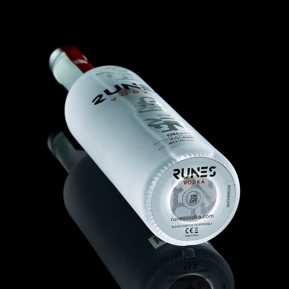 RUNES LED BOTTLE STICKER