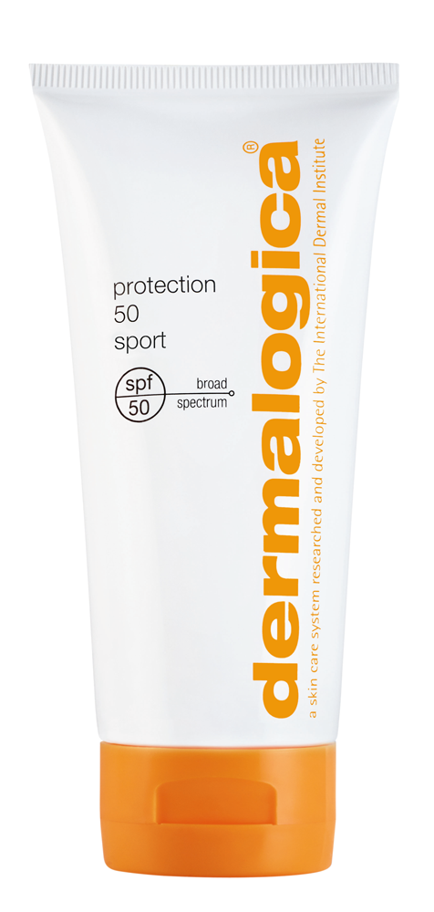 The newest addition to sun protection with dermalogica's Protection 50 Sport for water proof UV defense