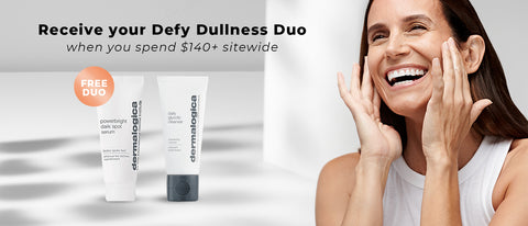 Defy Dull Skin with this Brightening Duo! Spend $140+ on Dermalogica to receive your free gifts