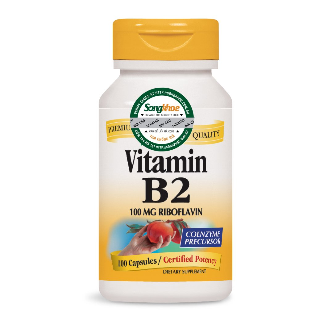 Nature's Way Vitamin B2 100 Caps