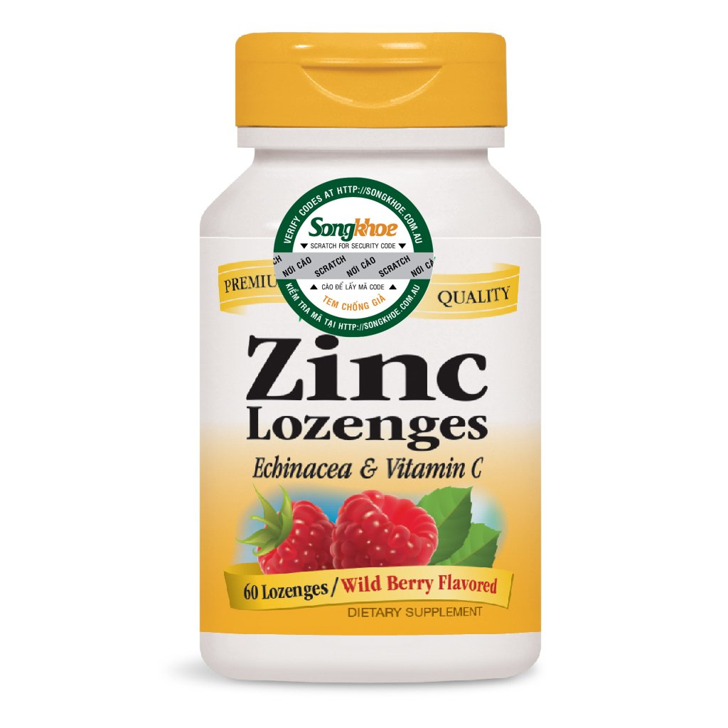 Nature's Way Zinc 60 Lozenges