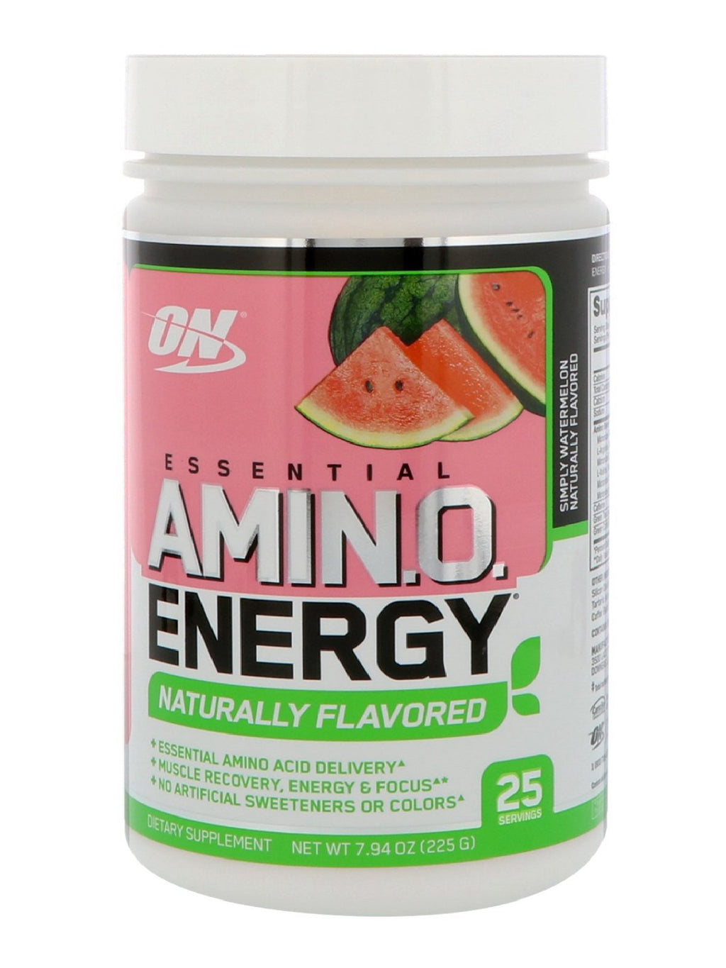 Optimum Nutrition Amino Energy Naturally Flavored 25 Servings