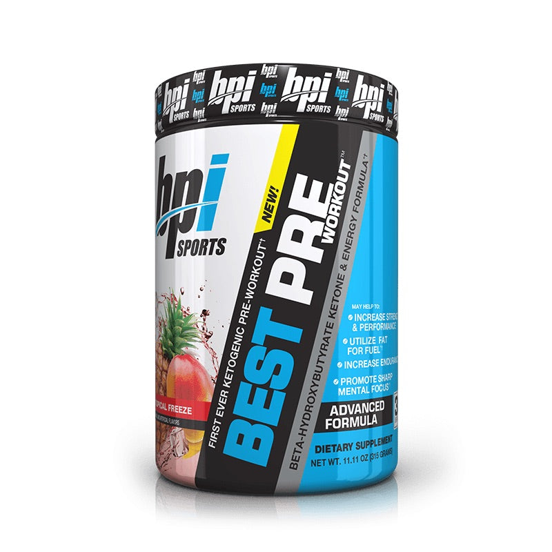 BPI Best PreWorkout (Keto) 30 Servings