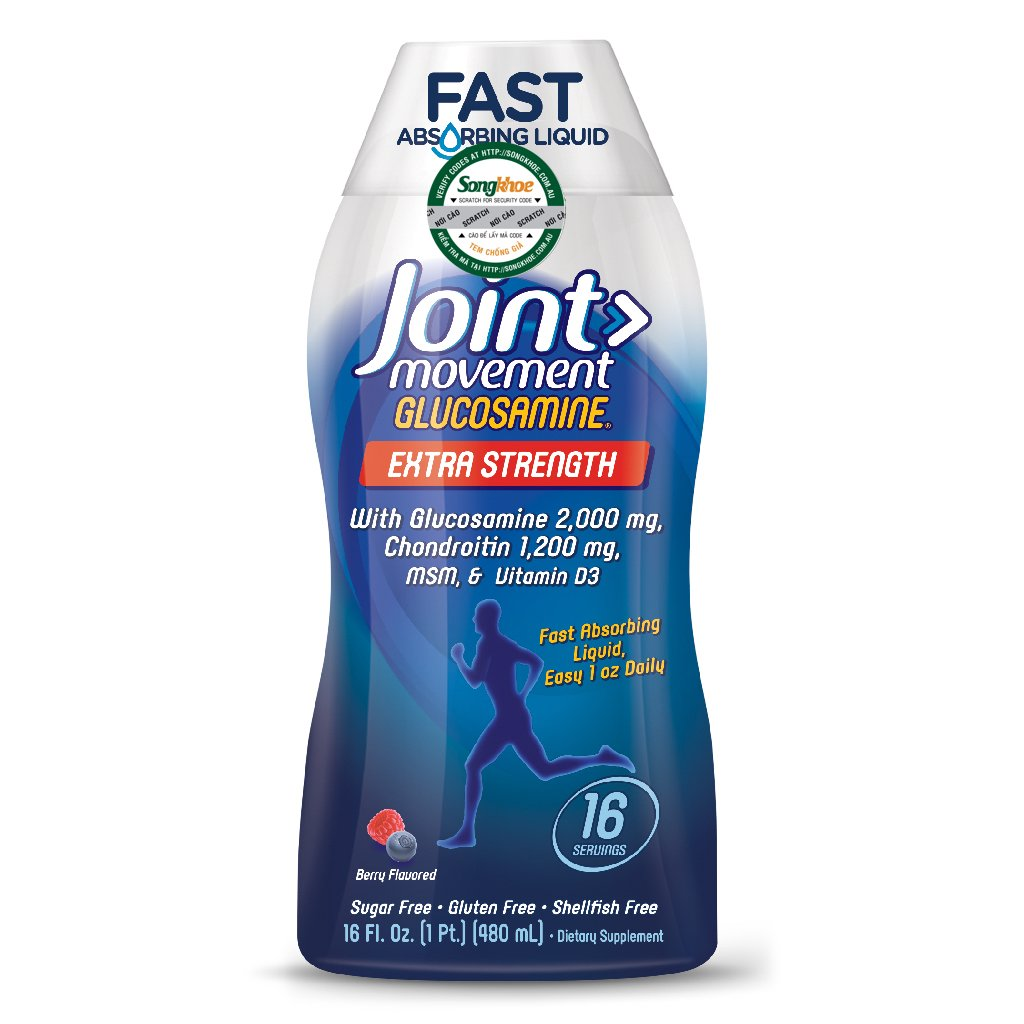 Nature's Way Joint Movement Glucosamine Liquid 16 oz (480ml)