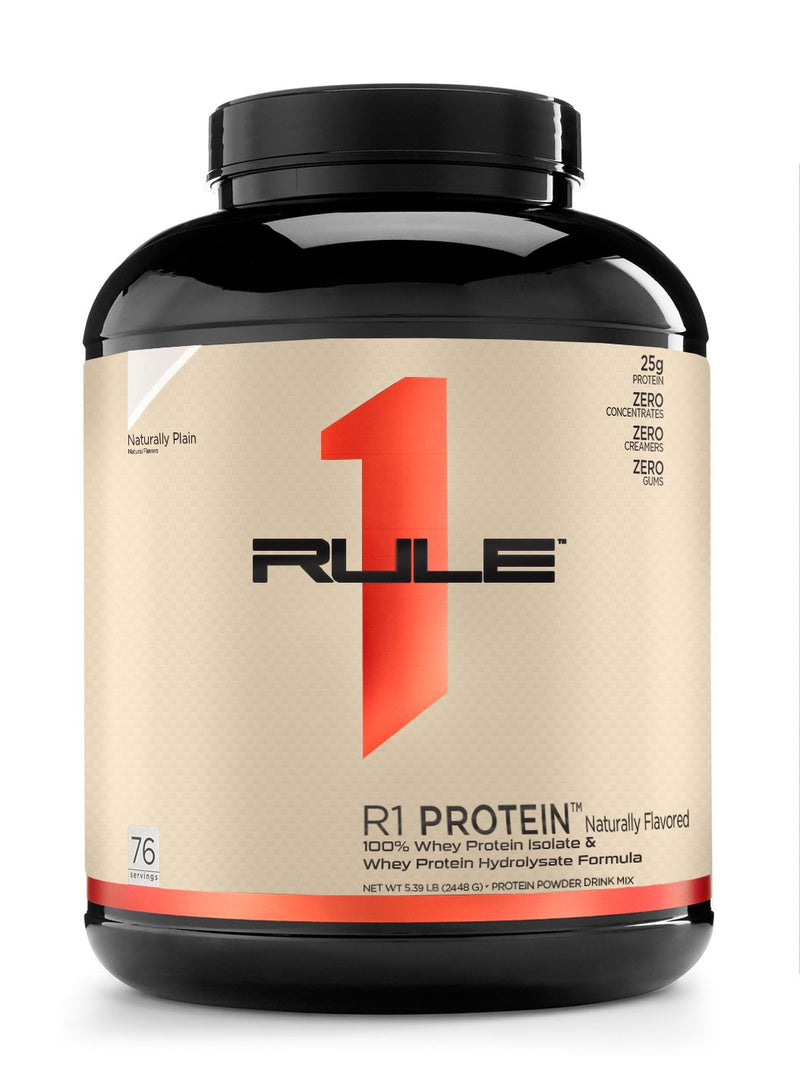 R1 Protein Isolate Natural Flavored , 76 Servings - 5.39 lb