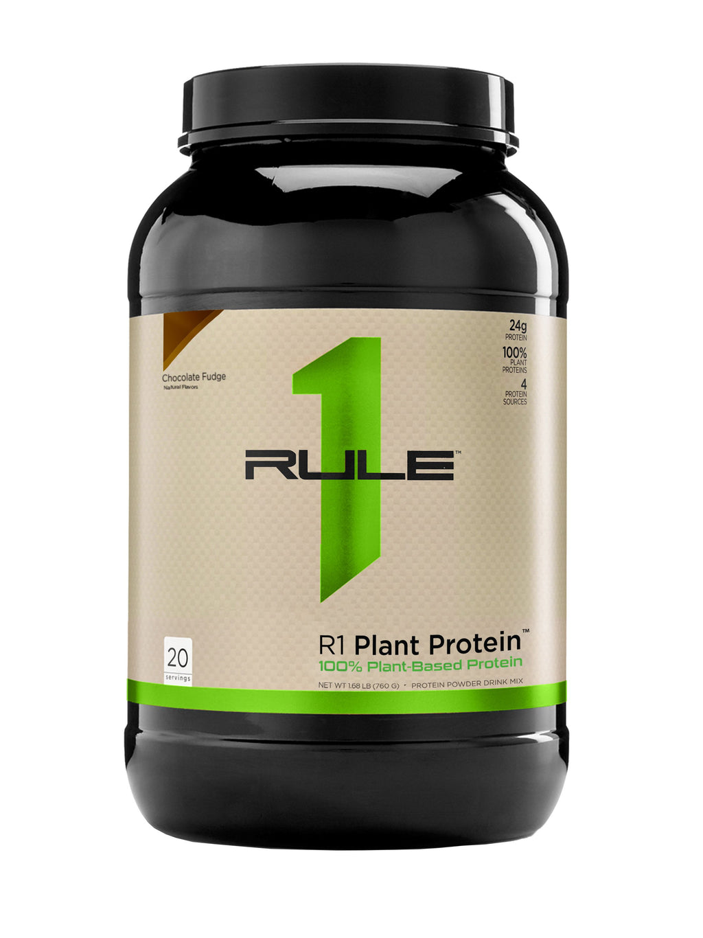 R1 Plant Protein, 20 Servings - 1.75 lb