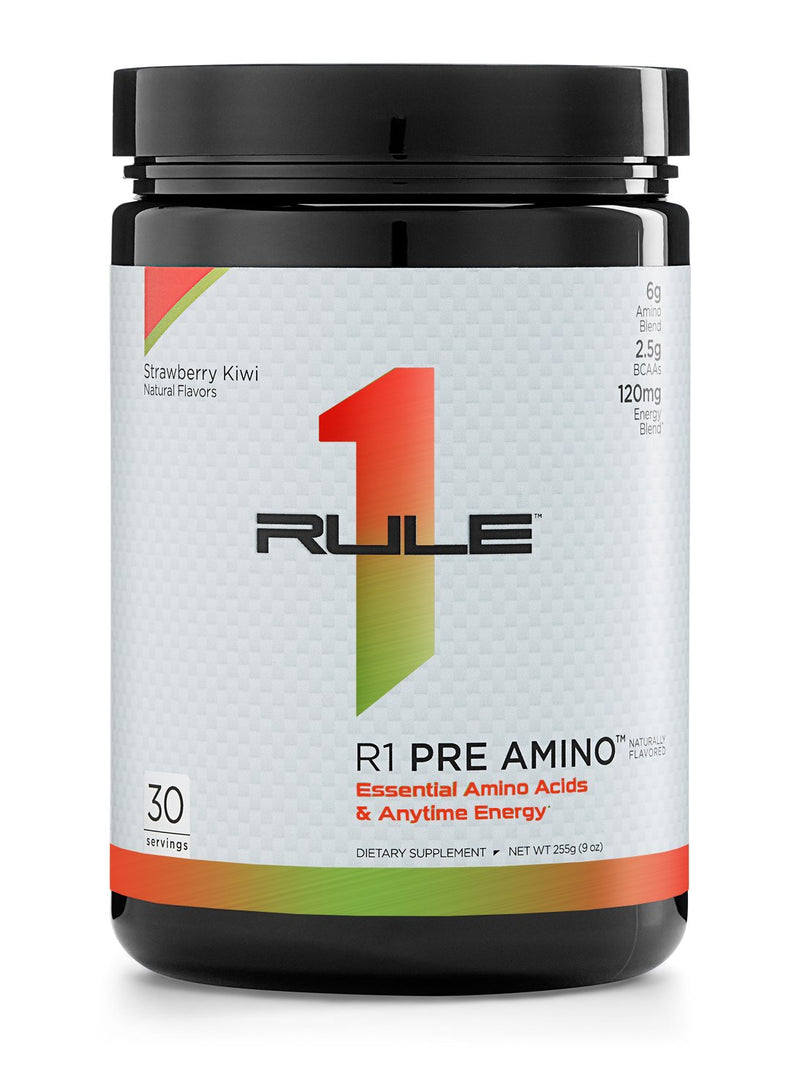 R1 Pre Amino Natural Flavored, 30 Servings - 255 g