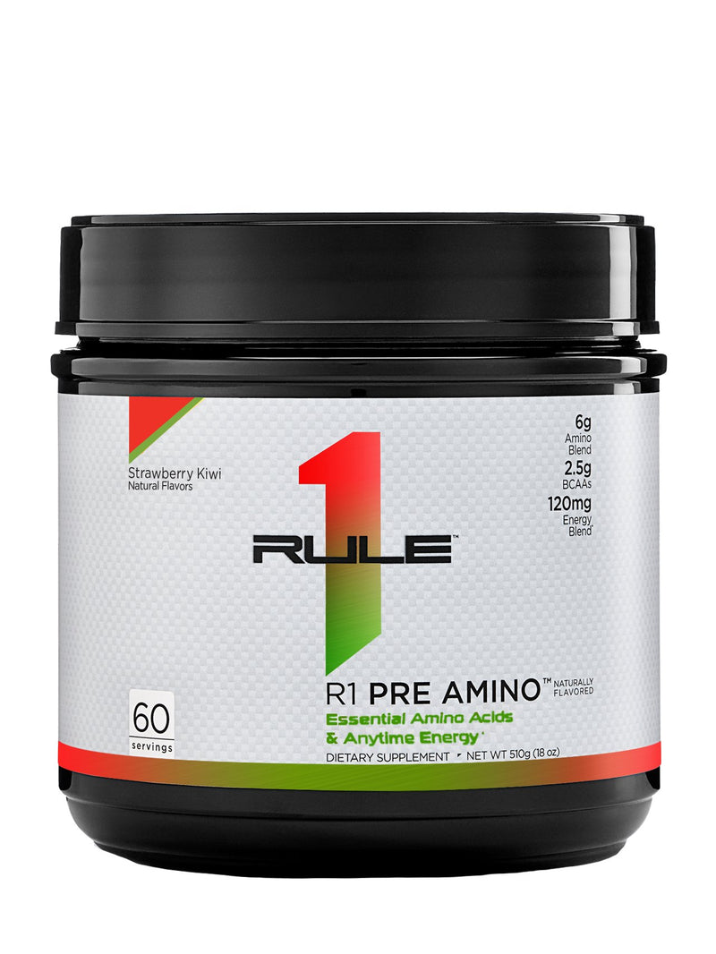R1 Pre Amino Natural Flavored, 60 Servings - 510 g
