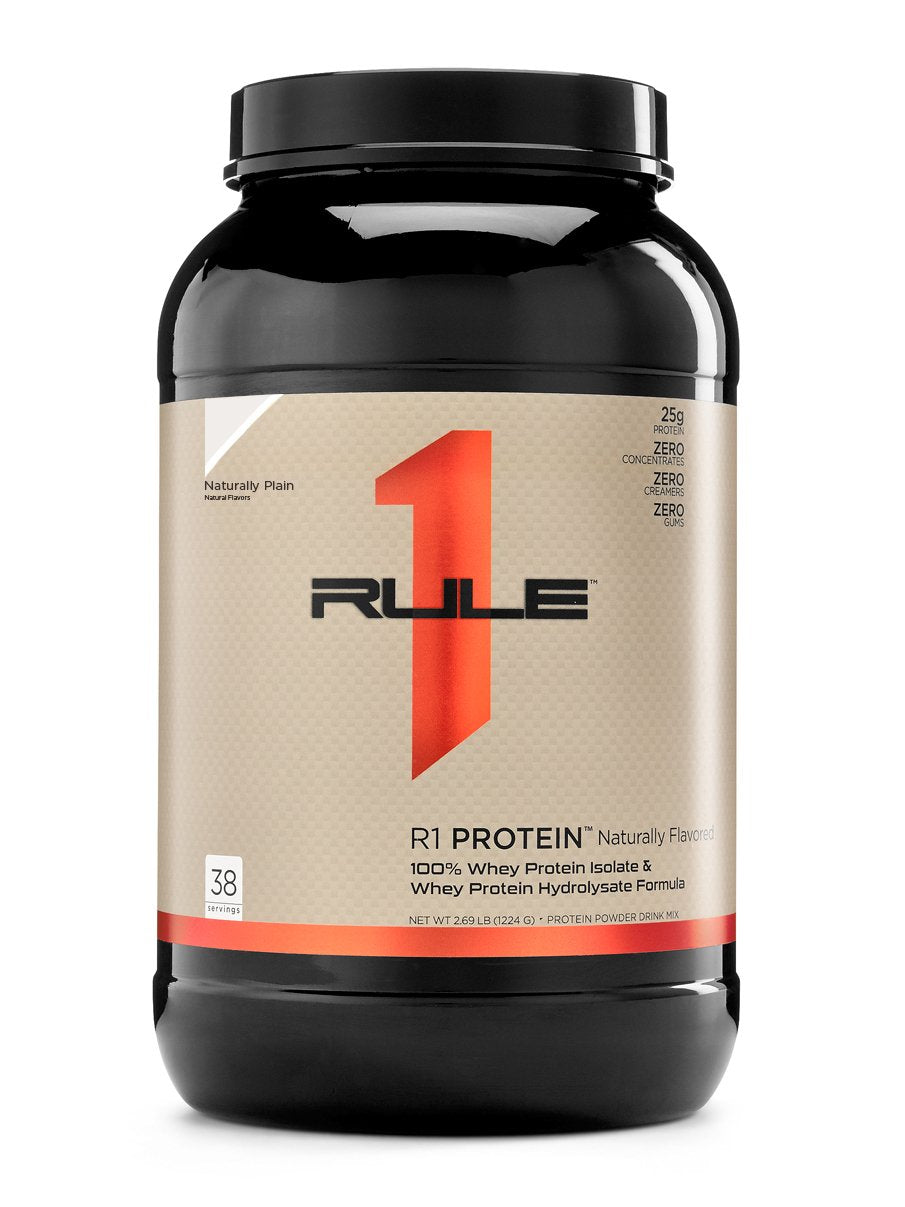 R1 Protein Isolate Natural Flavored , 38 Servings - 2.69 lb