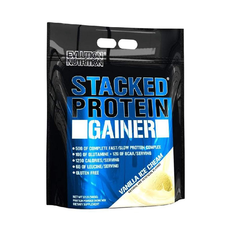EVL Stacked Protein Gainer 12 lb
