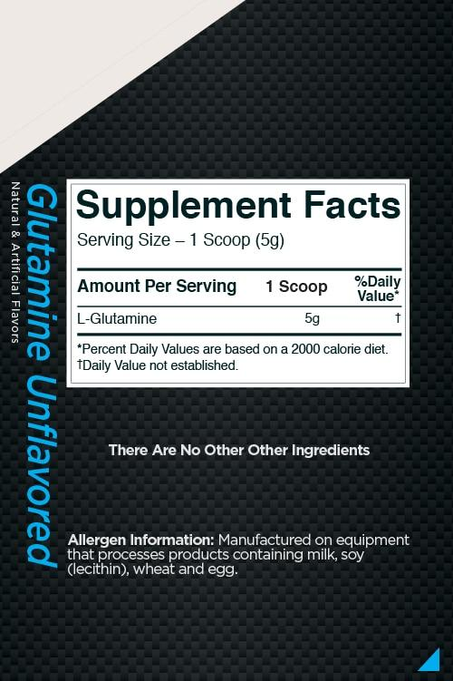 R1 Glutamine Unflavored
