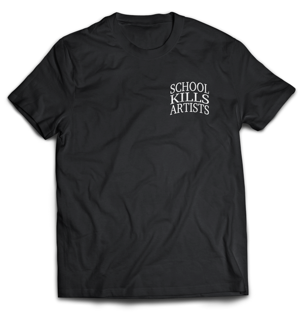 "School Kills Artist ""Original"" - Tshirt Embroidered - School Kills Artists"