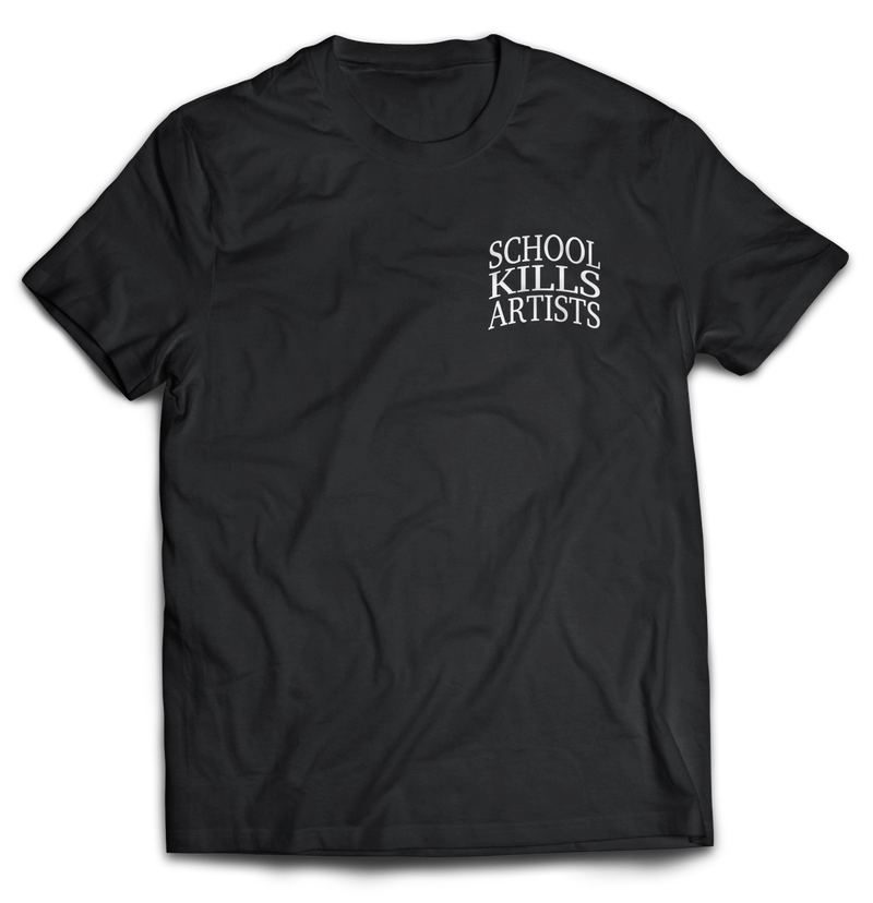 "School Kills Artists ""Original"" - Tshirt Embroidered - School Kills Artists"