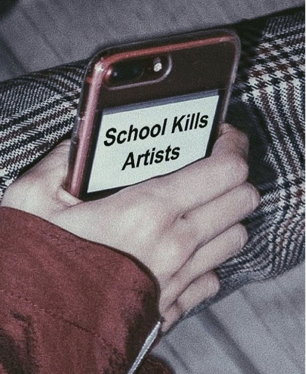 School Kills Artists - Phone Case for iPhone - School Kills Artists