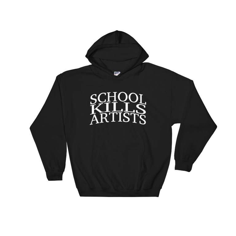 """The Original"" - Hoodie - School Kills Artists"