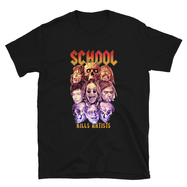 """Rock Band"" Special Edition - Tshirt - School Kills Artists"