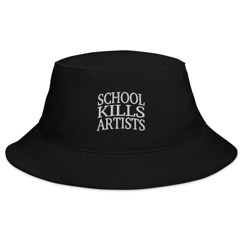 The Original School Kills Artists - Bucket Hat - School Kills Artists