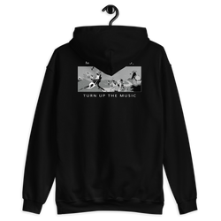 Mute the World, Turn up the Music - Hoodie - School Kills Artists