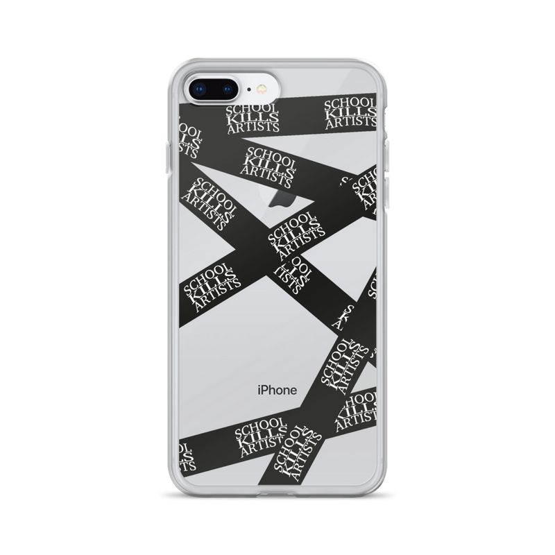 Seal School Kills Artists - Phone Case for iPhone - School Kills Artists