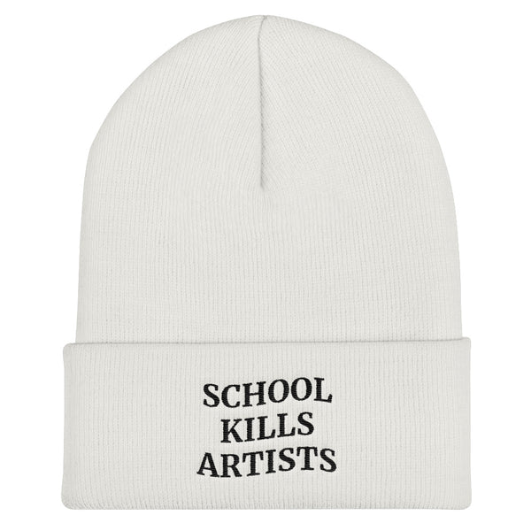 School Kills Artists - Beanie - School Kills Artists