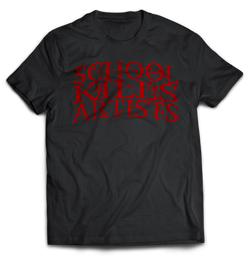 "Bloody ""School Kills Artists"" - Tshirt - School Kills Artists"