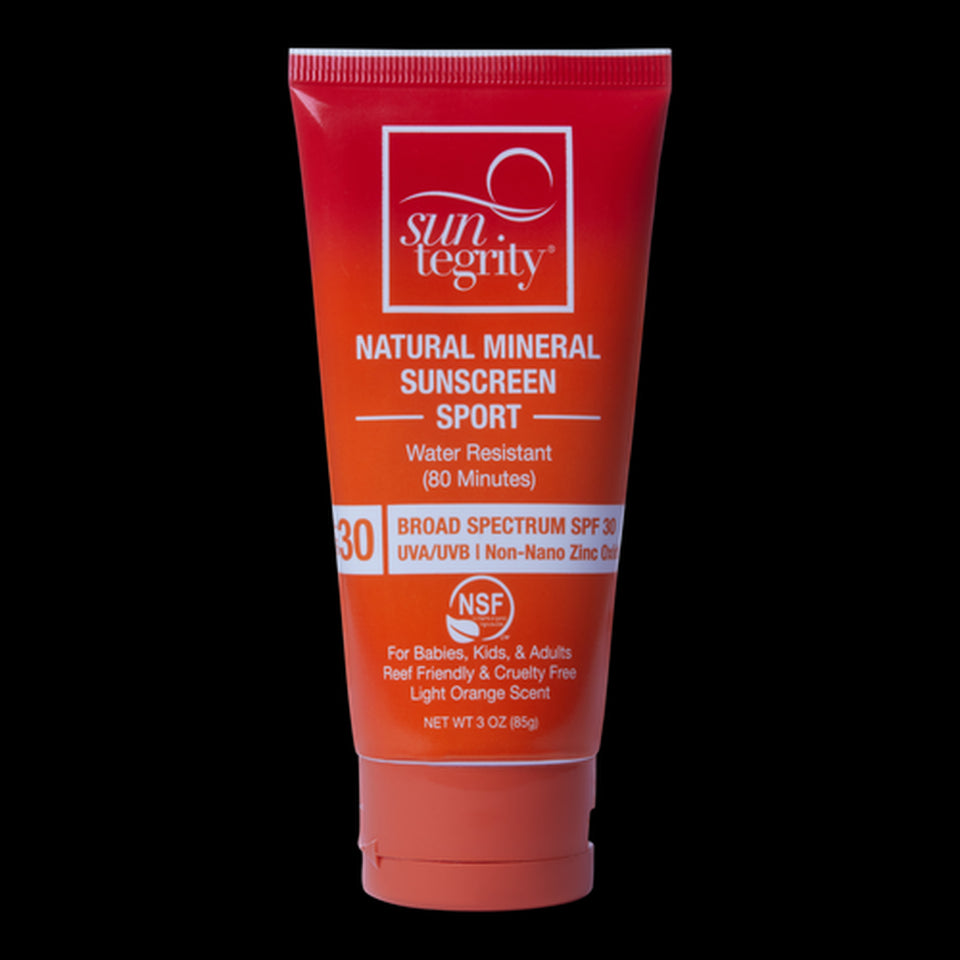 Suntegrity Sport Natural Mineral Sunscreen For Body