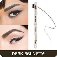 Load image into Gallery viewer, Brett Brow Duo-Shade Pencil (Dark Brunette)