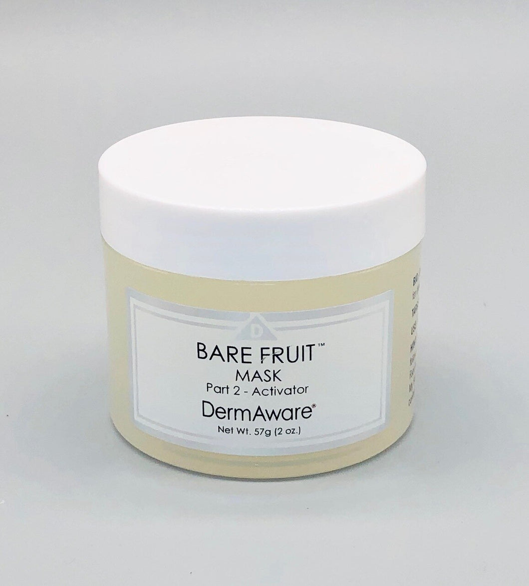 Dermaware Bare Fruit Mask PART 2