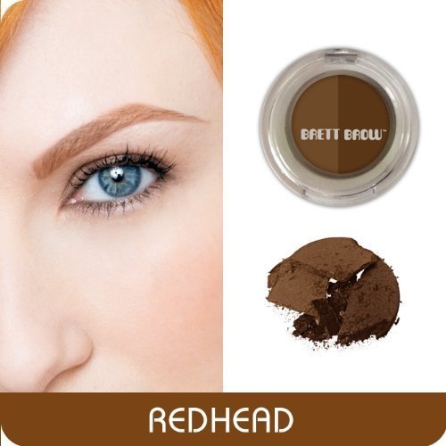 Brett Brow Duo-Shade Powder (Redhead)