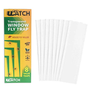 UCatch transparent Window Fly Traps (8 Traps) - ucatchstore